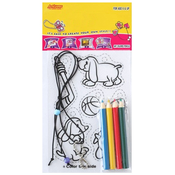 24 x big 2 small shrinking pictures arts craft kit for Bulk arts and crafts
