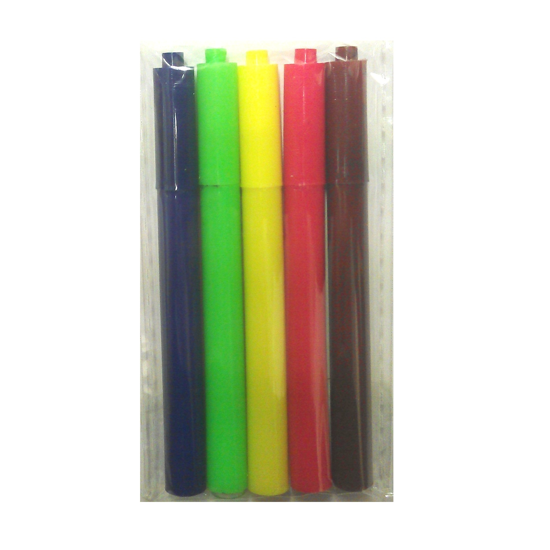 Mini fibre colouring pens felt tips party bag fillers