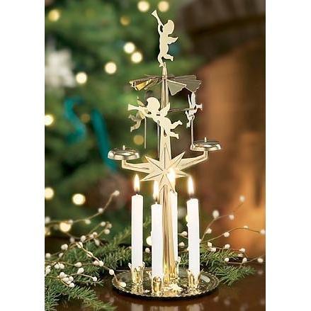 Brass angel chimes original swedish christmas decoration for Angel christmas decoration
