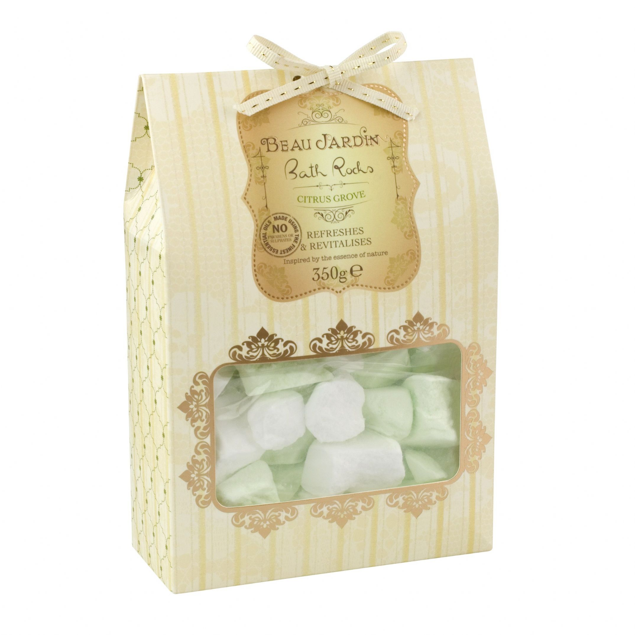 Citrus grove beau jardin bath rocks 350g bombs fizzers for Beau jardin bath rocks