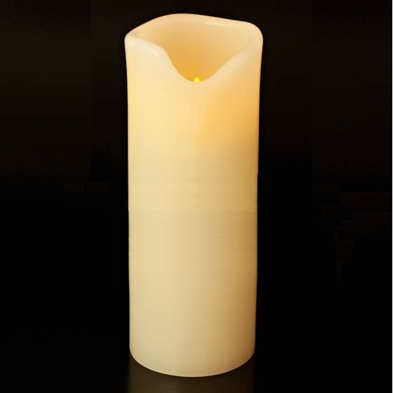 Battery operated candles flickering votive candles in for Large outdoor christmas candles