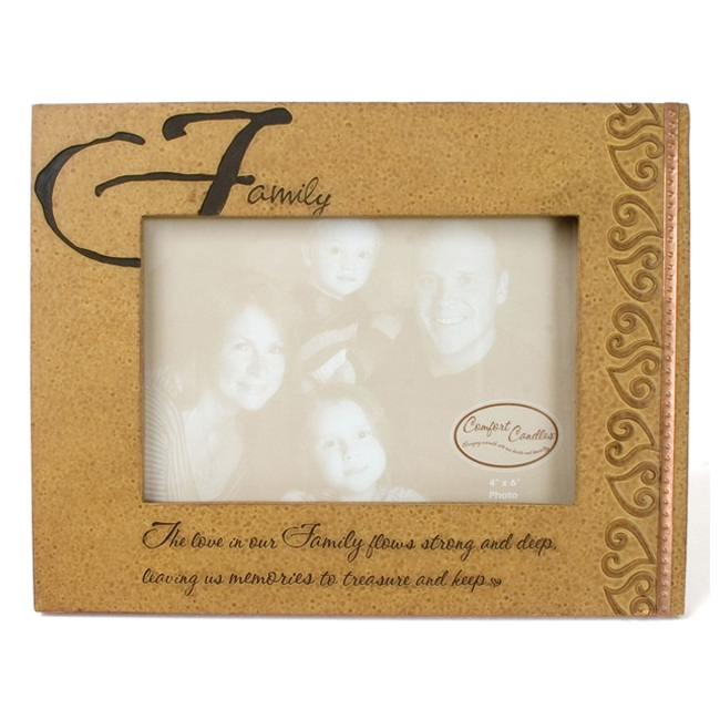 Family Photo Frame Size 4 X 6 Comfort Candles
