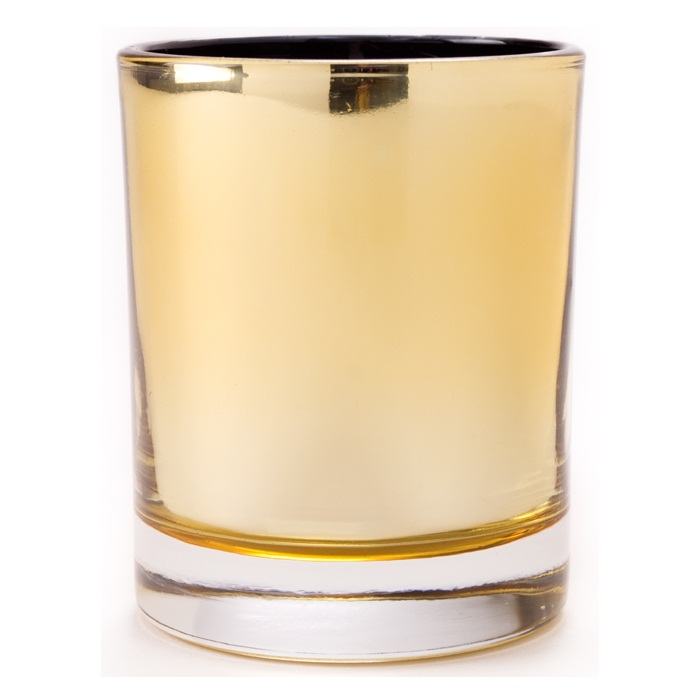 GOLD Glass Jar WINTER FIG Shearer Scented Candles 35 Hours