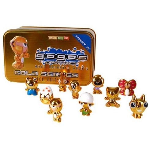 Gold Tin Part 2 - GoGo s CRAZY BONES - Limited Edition Collectors & 10
