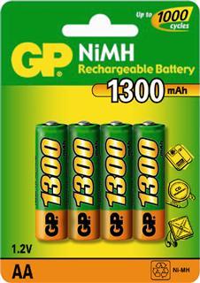 LLoytron AA 2700 mAh NiMH Rechargeable Batteries. 4 Pack