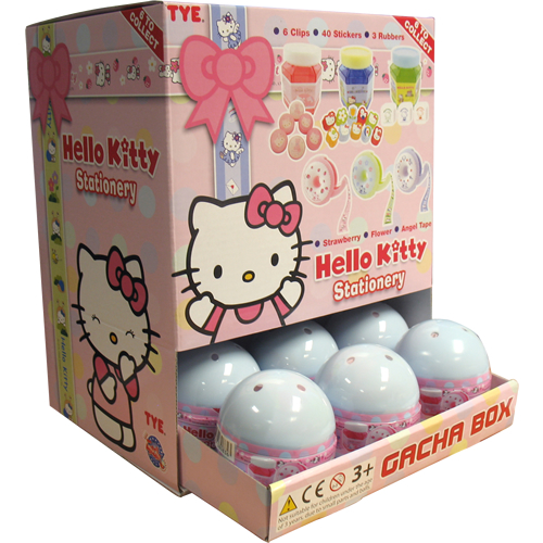 Hello Kitty Stationery Surprise Lucky Dip Capsule Gachas