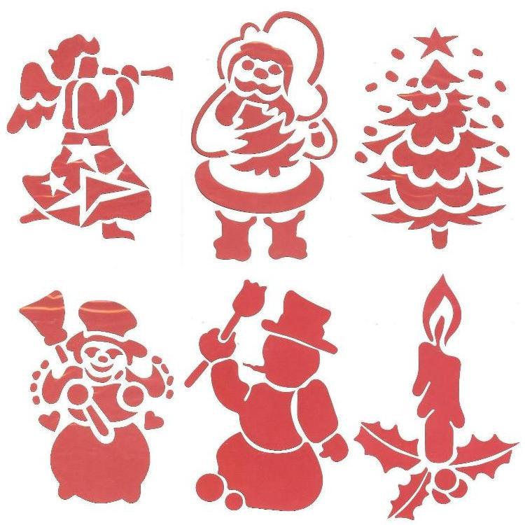 stencils christmas cupcake stencils christmas stencils christmas ...