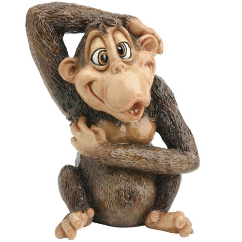 Mikey Little Paws Critters Monkey