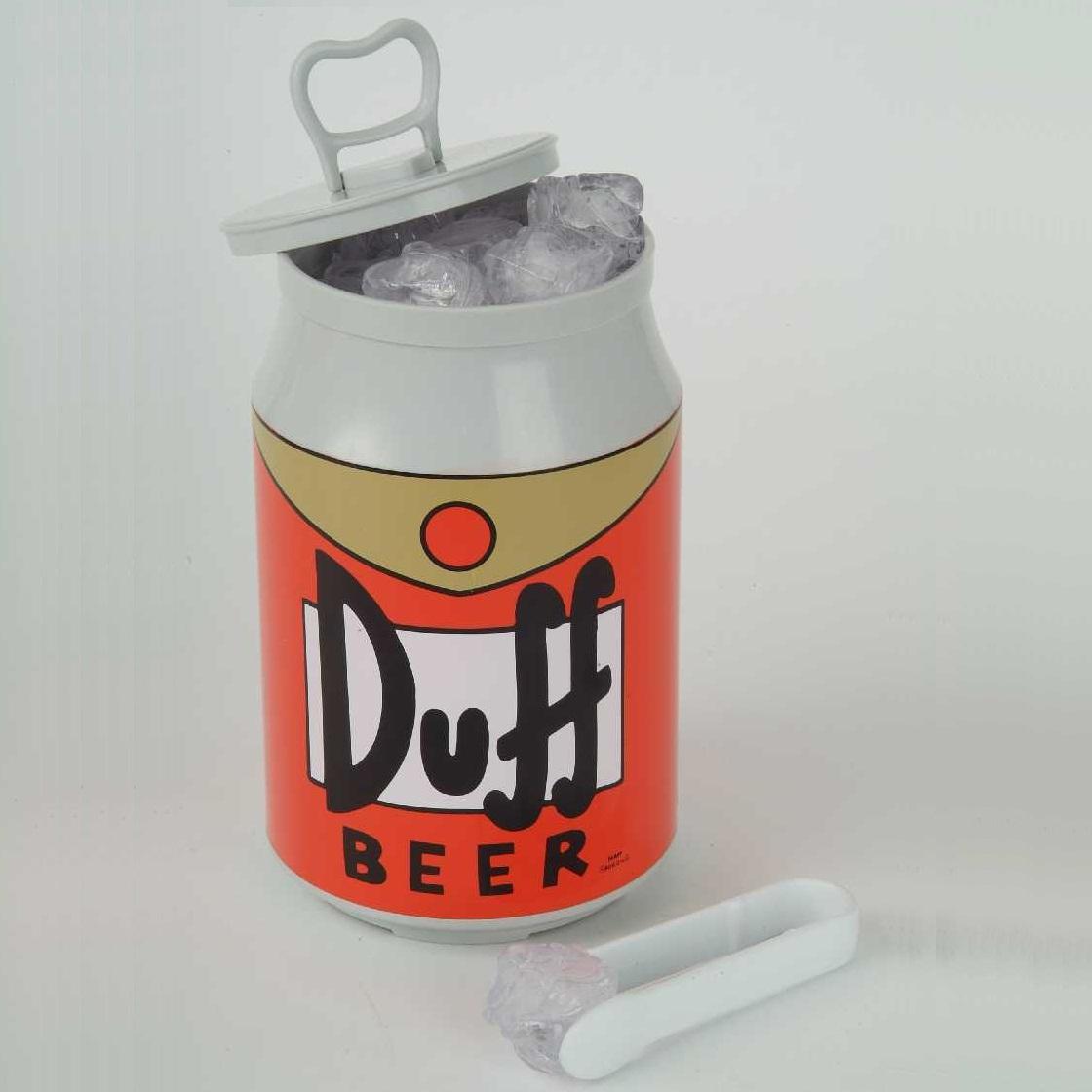 Talking Ice Bucket Duff Beer Homer The Simpsons