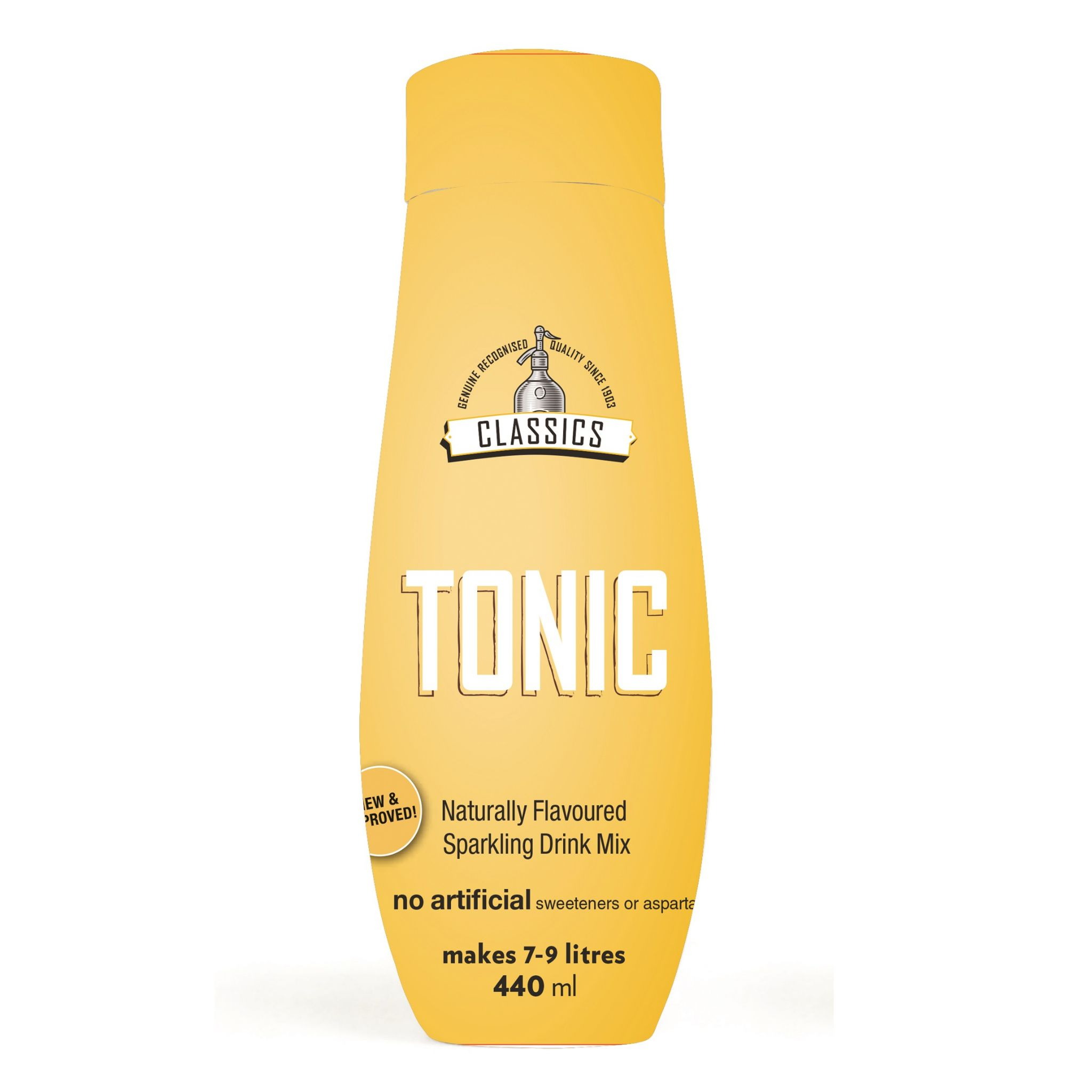 Tonic Classics Sodastream Flavoured Drink Concentrate